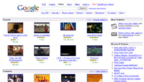 Le site video de Google - Un choix de video large et eclectique : Marrante ou pub, clips ou infos